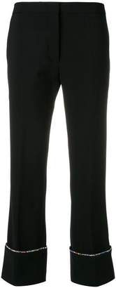 Marco De Vincenzo embellished tailored trousers