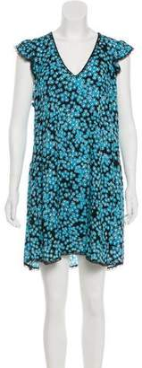 Zadig & Voltaire Floral Print Shift Dress