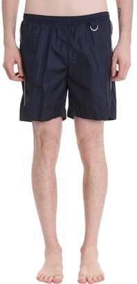 Low Brand Blue Nylon Swimwear