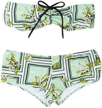 Miss Blumarine strapless bikini
