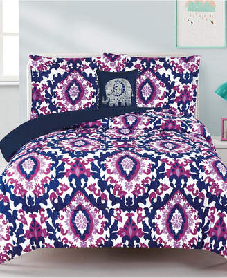 Mytex Calabria Damask 3-Pc. Twin Comforter Set Bedding