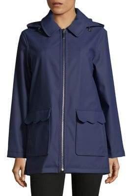 Kate Spade Zipped Half Trench Coat