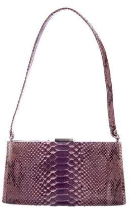 Calvin Klein Collection Python Shoulder Bag