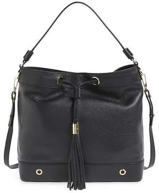 Milly Astor Leather Tassel Hobo