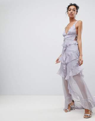 The Jetset Diaries Olympus Ruffle Maxi