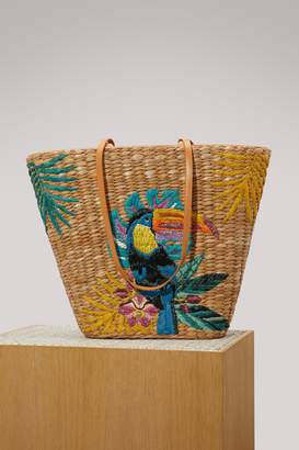 To&co. Aranaz Toco embroidered tote