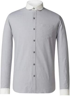 Gibson Men's Grey Penny Round Shirt