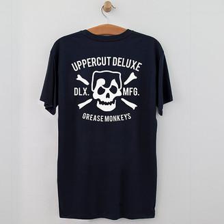 Uppercut Grease Monkey Lives T-Shirt Print - S
