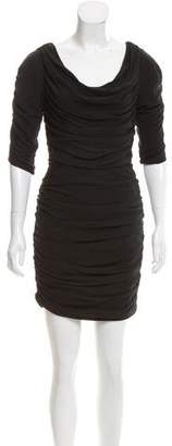 ALICE by Temperley Three-Quarter Sleeve Mini Dress