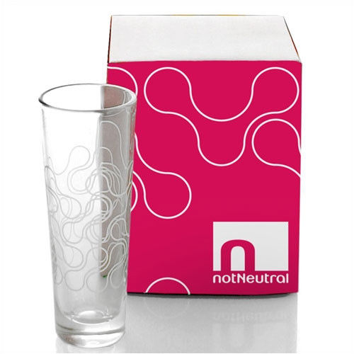 notNeutral Links Cordial Glass (Set of 4)
