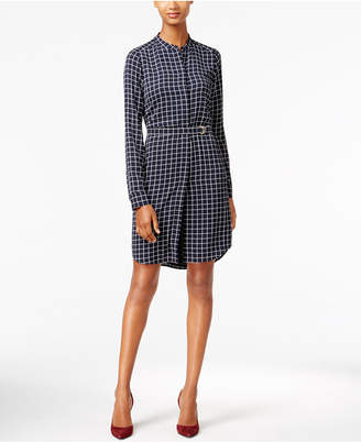 MICHAEL Michael Kors Printed Shirtdress $155 thestylecure.com