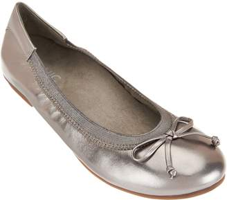 Vionic Leather or Suede Ballet Flats - Matira