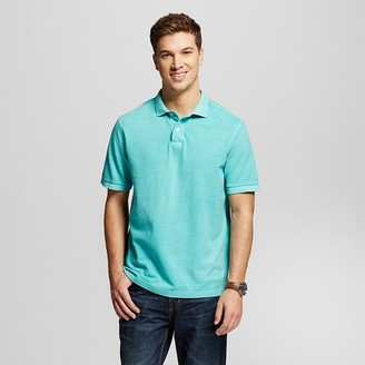 Merona Men's Garment Dyed Polo Shirt $12.99 thestylecure.com