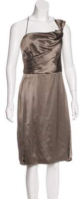 Armani Collezioni Silk Satin Dress