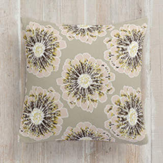 Modern Blossom Self-Launch Square Pillows