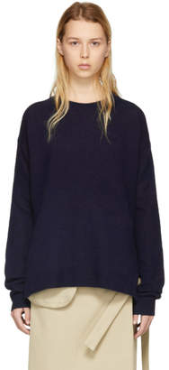Acne Studios Navy Wool Deniz Sweater