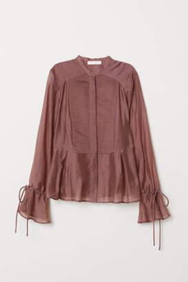 H&M Lyocell-blend Blouse - Pink