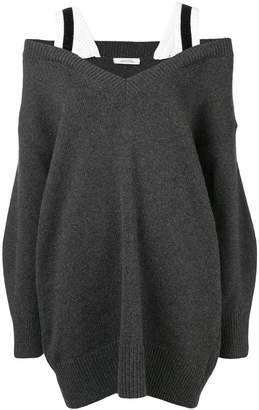 Schumacher Dorothee cold shoulder jumper