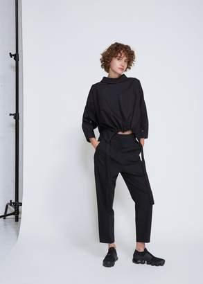 Ji Oh Cinched Waist Drawstring Shirt