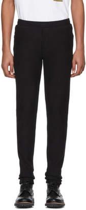 Vetements Black Logo Patch Lounge Pants