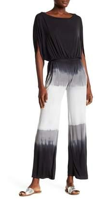 Couture Go Dolman Sleeve Tie-Dye Jumpsuit
