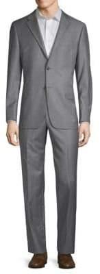 Hickey Freeman Milburn Series Wool Suit