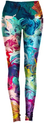 Aloha From Deer Paintjob Leggings