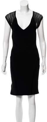 Zac Posen Knit Knee-Length Dress