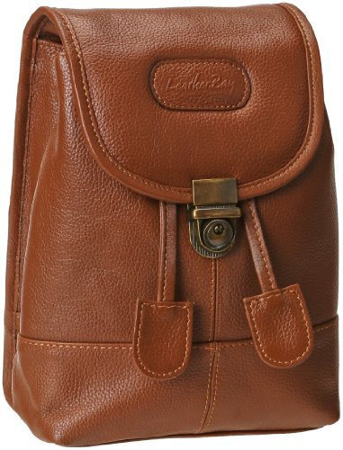 Leatherbay Leather Mini Backpack