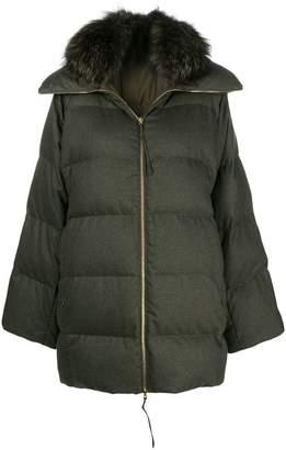 Agnona puffer coat