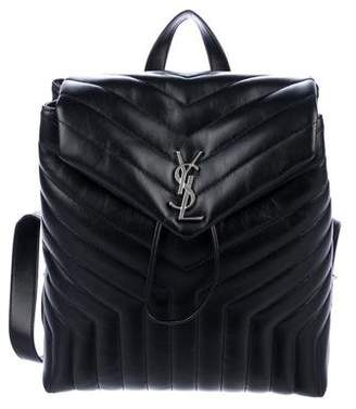 Saint Laurent 2018 Medium Lou Lou Monogram Backpack