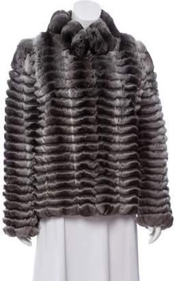 1cfee410af5 Oscar de la Renta Chinchilla Fur Jacket