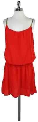 Heidi Klein Orange Huntington Beach Voile Dress $76.99 thestylecure.com