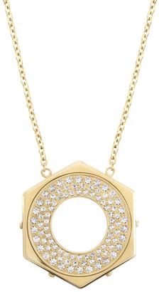 Swarovski Bolt Crystal Pendant Necklace $125 thestylecure.com