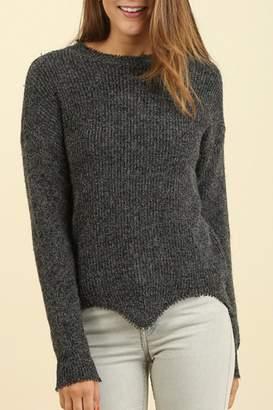 Umgee USA Round Neck Sweater