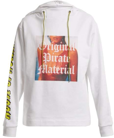Original Pirate Material cotton hoodie