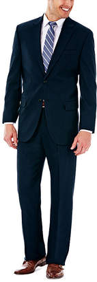 Haggar J.M. Premium Stretch Sharkskin Classic Fit Dark Navy Suit Jacket