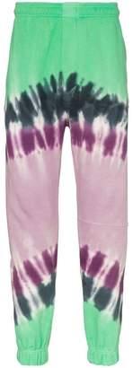 Vyner Articles regal print organic cotton sweat pants