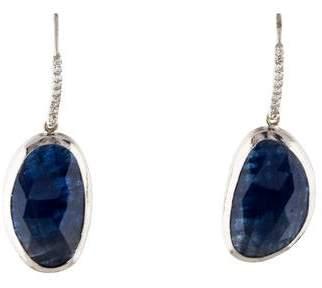 Gurhan 18K Sapphire & Diamond Elements Drop Earrings