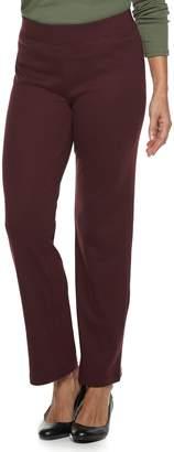 Croft & Barrow Women's Croft & BarrowPull-On Fleece Straight-Leg Pants