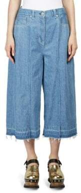 Sacai Denim Wide-Leg Trousers