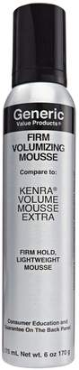 Kenra Generic Value Products Firm Volumizing Mousse Compare to Extra Volumizing Mousse Spray