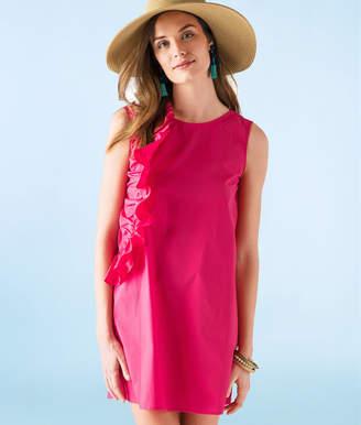 Vineyard Vines Ruffle A-Line Shift Dress