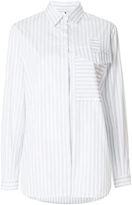 Marco De Vincenzo pocket striped shirt