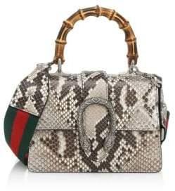 Gucci Dionysis Python Mini Top Handle Bag