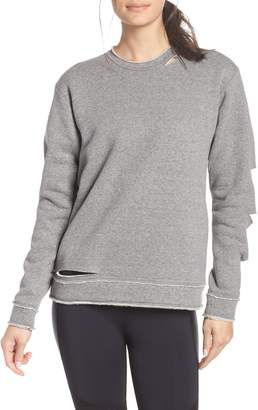 ALALA Cypher Destroyed Sweatshirt