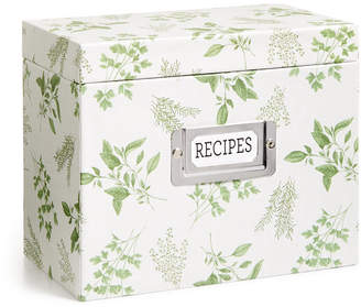 Martha Stewart Collection Recipe Box