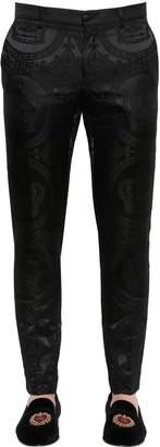 Dolce & Gabbana 15cm Cotton Brocade Pants