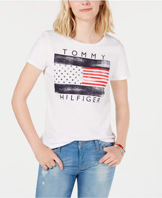 Tommy Hilfiger Logo-Graphic Top