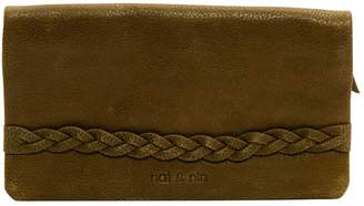 Nat & Nin Khaki Leather Wallets